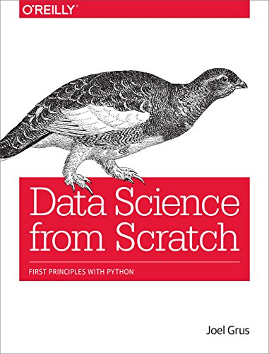Cover: Data Science from Scratch: First Principles with Python