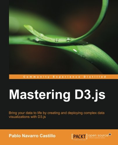 Cover: Mastering D3.js