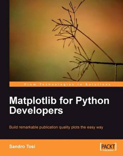 Cover: Matplotlib for Python Developers