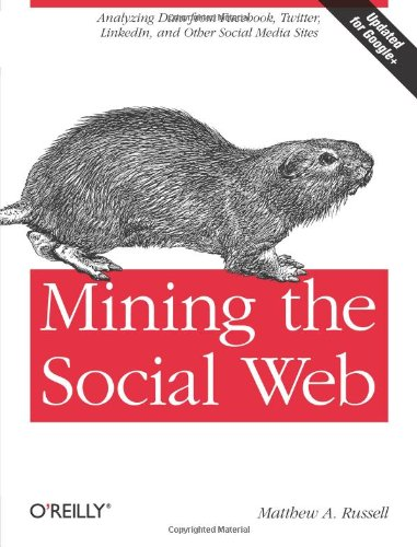 Cover: Mining the Social Web: Analyzing Data from Facebook, Twitter, LinkedIn, and Other Social Media Sites