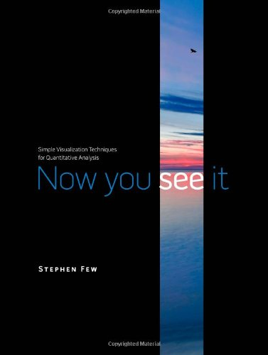 Cover: Now You See It: Simple Visualization Techniques for Quantitative Analysis