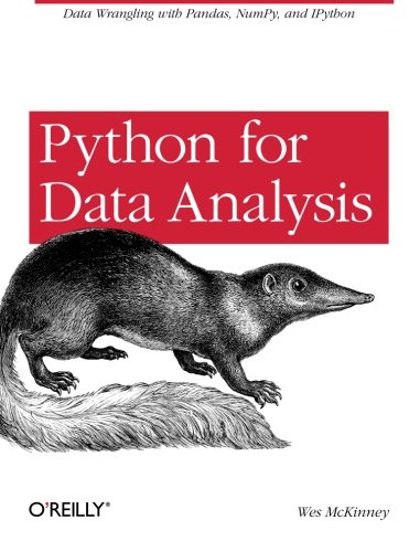 Cover: Python for Data Analysis: Data Wrangling with Pandas, NumPy, and IPython