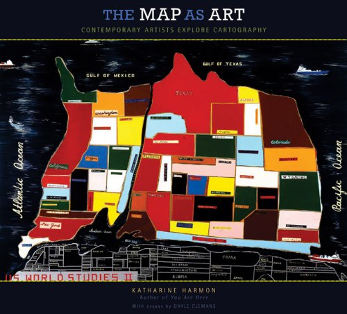 Cover: The Map as Art: Contemporary Artists Explore Cartography