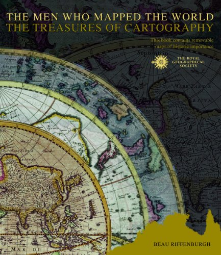 Cover: The Men Who Mapped the World: The Treasures of Cartography